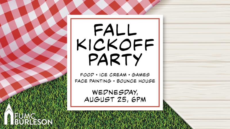 Fall Kickoff Party