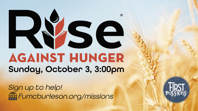 Rise Against Hunger Food Packing