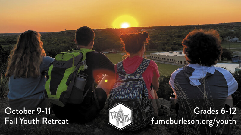 First Youth Fall Retreat